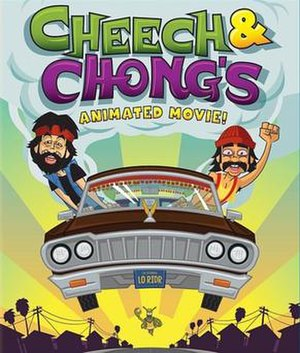 """Cheech & Chong's Animated Movie - Image: The Image is the Cover Art for """"Cheech and Chong's Animated Movie"""