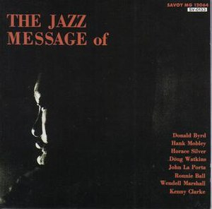 The Jazz Message of Hank Mobley - Image: The Jazz Message of