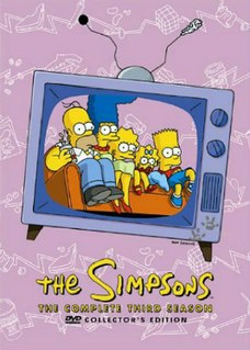 <i>The Simpsons</i> (season 3) Episode list for season of animated series
