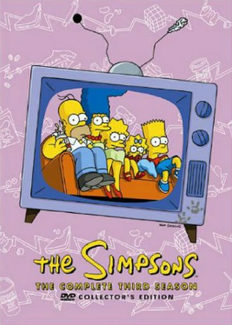 The Simpsons (season 3) - DVD cover