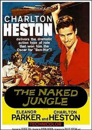 The Naked Jungle - Promotional film poster