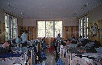 Timbertop - The dormitory of a Timbertop Unit