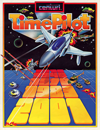 Time Pilot - North American arcade flyer