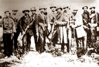 Battle of Topáter - Image: Topater Bolivian Defenders