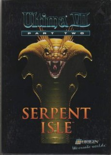 <i>Ultima VII Part Two: Serpent Isle</i> 1993 video game