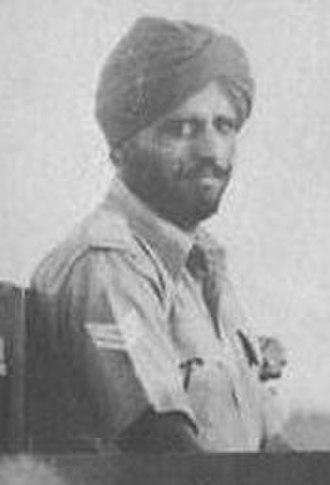 Parkash Singh - Havildar Parkash Singh, VC, 8th Punjab Regiment.