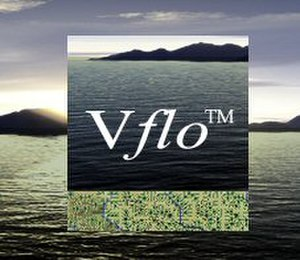 Vflo - Image: Vflo splashpage