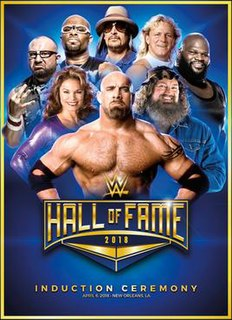 WWE Hall of Fame (2018) WWE Hall of Fame induction ceremony