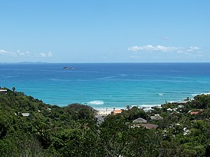 Byron Bay, New South Wales - Overlooking Wategos with Julian Rocks in the background