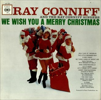 We Wish You a Merry Christmas (Ray Conniff album) - Image: We Wish You a Merry Christmas (Ray Conniff album)