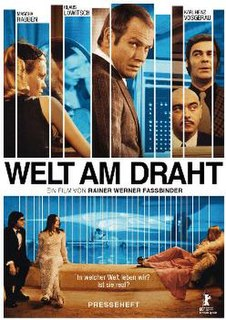 <i>World on a Wire</i> 1973 television serial directed by Rainer Werner Fassbinder