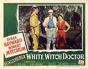 White Witch Doctor (film) - Original lobby card