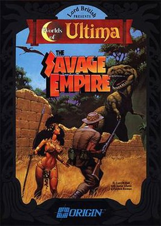 Worlds of Ultima: The Savage Empire - MS-DOS cover