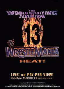 Image result for wrestlemania 13