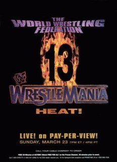 WrestleMania 13 1997 World Wrestling Federation pay-per-view event