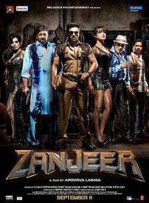 Zanjeer (2013 film) - Image: Zanjeer poster