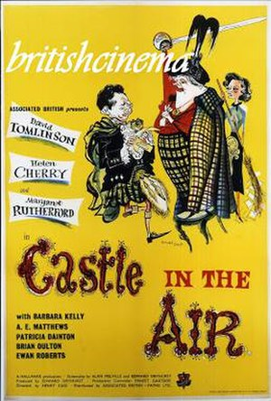 Castle in the Air (film) - Film poster by Ronald Searle