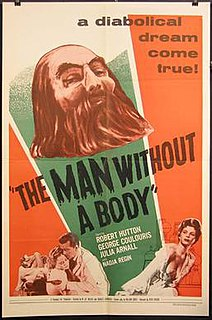 <i>The Man Without a Body</i> 1957 film by Charles Saunders