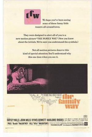 The Family Way - Image: 1967 movie poster Warner Brothers