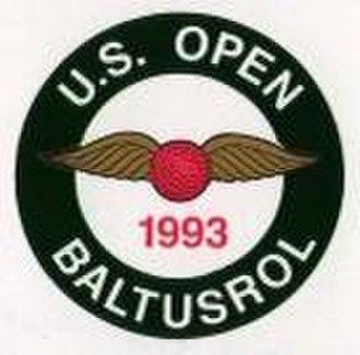 1993 U.S. Open (golf) - Image: 1993Open Logo