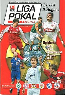 2004 DFB-Ligapokal football tournament season