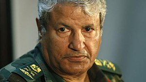 Abdul Fatah Younis - Abdul Fatah Younis Al-Obeidi, as the head of the Free Libyan Army's General Staff
