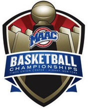 2015 MAAC Men's Basketball Tournament - Image: 2015 MAAC B Ball Logo