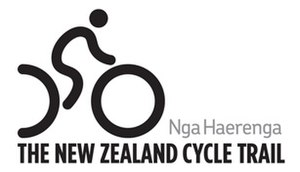 New Zealand Cycle Trail - Logo of the Cycle Trail branding.
