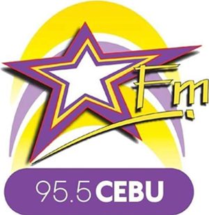 DYMX - 95.5 Star FM Cebu Logo (2017)