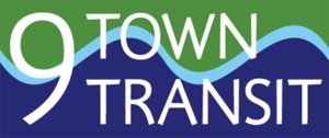 Estuary Transit District - Image: 9 Town Transit (logo)