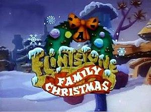 A Flintstone Family Christmas - Image: A Flintstone Family Christmas