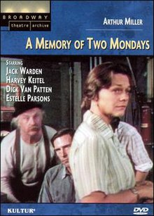 A Memory of Two Mondays DVD Cover