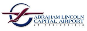 Abraham Lincoln Capital Airport - Image: Abraham Lincoln Capital Airport (logo)