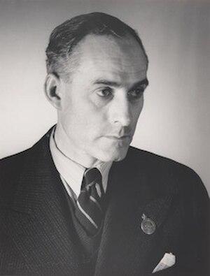 Adrian Feint - Portrait of Adrian Feint by Max Dupain (1939)