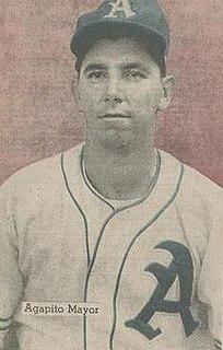 Agapito Mayor Cuban baseball player