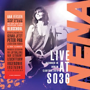 """Live at SO36 - Image: Album cover to """"L Ive at SO36"""" by Nena"""