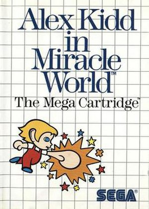 Alex Kidd in Miracle World - Western Master System box art