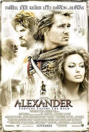 Alexander (2004 film) - Theatrical release poster