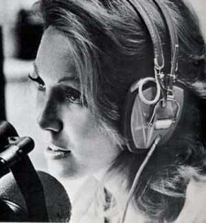 Alison Steele - A promotional shot of Steele at WNEW