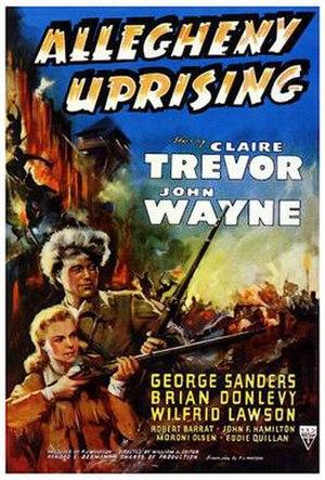 Allegheny Uprising - Film poster