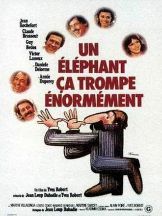 Pardon Mon Affaire - Image: An Elephant Can Be Extremely Deceptive Film Poster