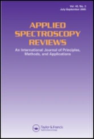Applied Spectroscopy Reviews - Image: Applied Spectroscopy Reviews cover