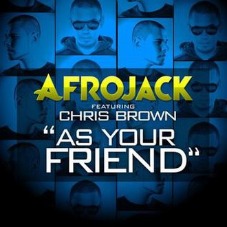 Afrojack featuring Chris Brown — As Your Friend (studio acapella)