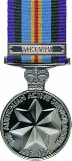 Australian Active Service Medal 1945–1975 Award