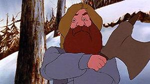 Dwarf (Middle-earth) - Gimli in Ralph Bakshi's ''The Lord of the Rings'' (1978) voiced by David Buck.