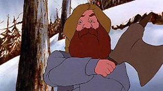 Dwarf (Middle-earth) - Gimli in Ralph Bakshi's The Lord of the Rings (1978) voiced by David Buck.