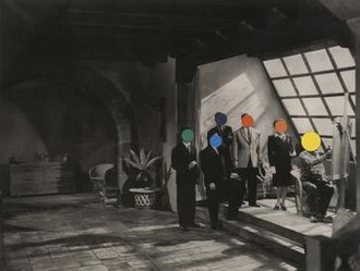John Baldessari - John Baldessari, Studio, 1988, Lithograph and silkscreen on Sommerset paper, 25 ¾ x 34 in, Los Angeles County Museum of Art