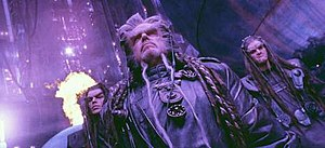 Battlefield Earth (film) - Critics noted the film's heavy use of tilted camera angles and luridly-tinted scenes.