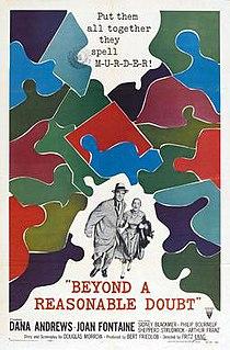 <i>Beyond a Reasonable Doubt</i> (1956 film)
