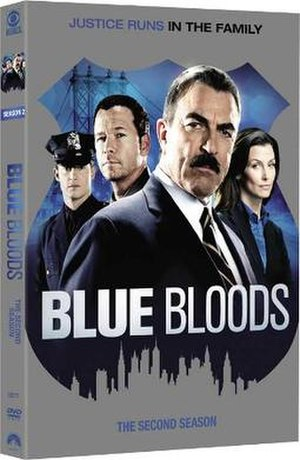 Blue Bloods (season 2) - Image: Blue Bloods S2 DVD